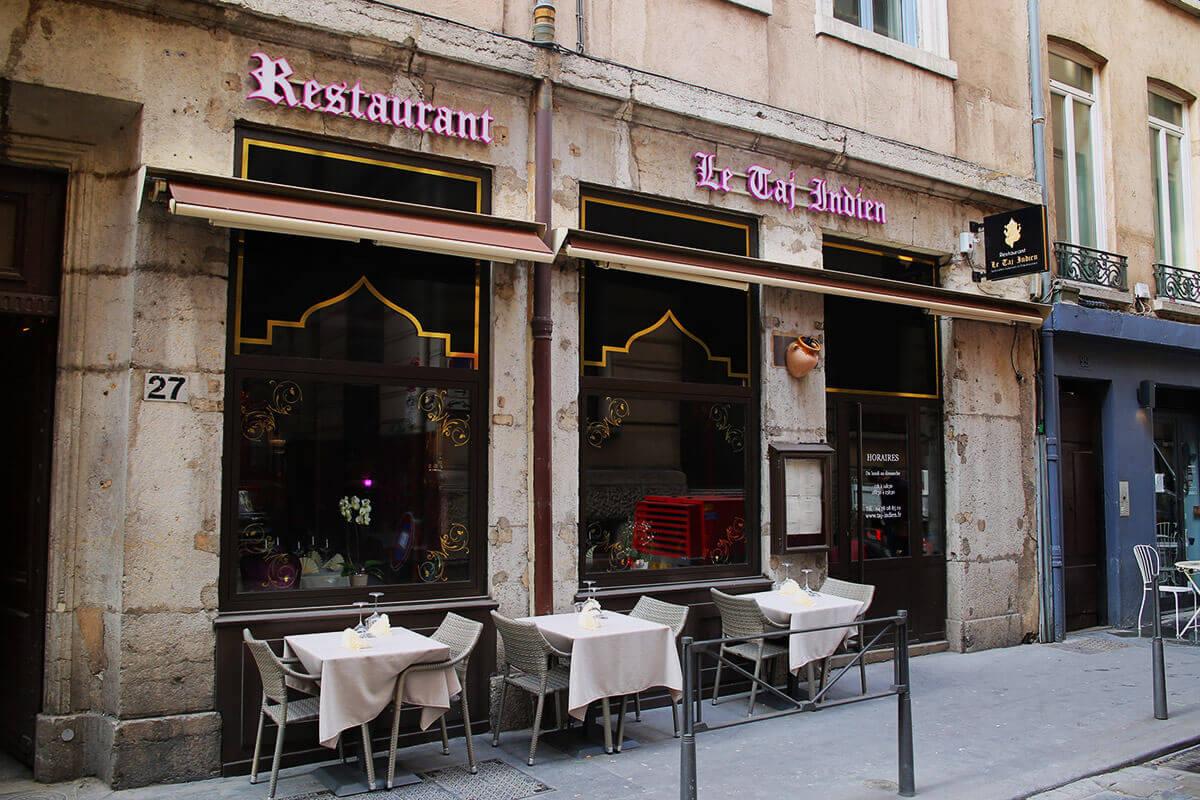 Création de l'enseigne d'un restaurant indien à Lyon