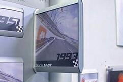 Drapeau mural pour signalétique intérieure