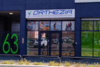 Enseigne magasin de matériel Médical à Lyon