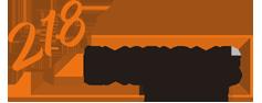 218 Enseigne Logo