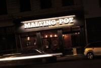 Réalisation de l'enseigne éclairée du restaurant Malting Pot à Lyon