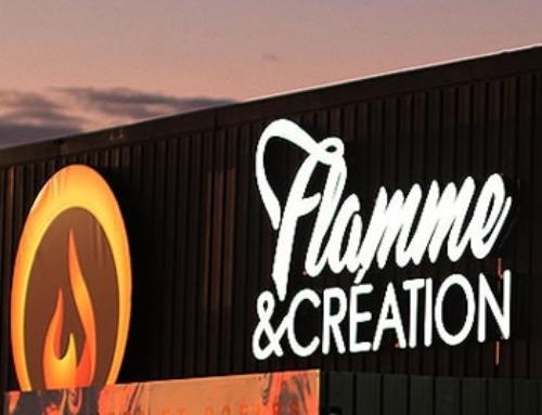 Enseigne Flamme & Création