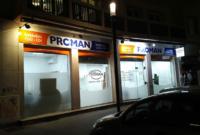 Enseigne de l'agence d'intérim Proman à Lyon 7