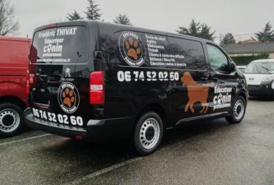 Covering Camion Éducateur Canin