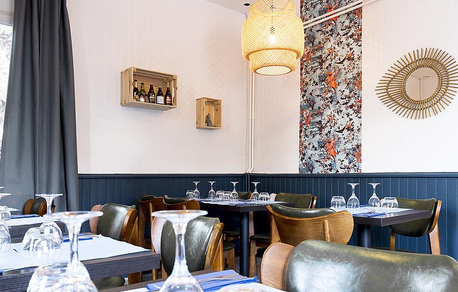 Design d'espace professionnel pour restaurant