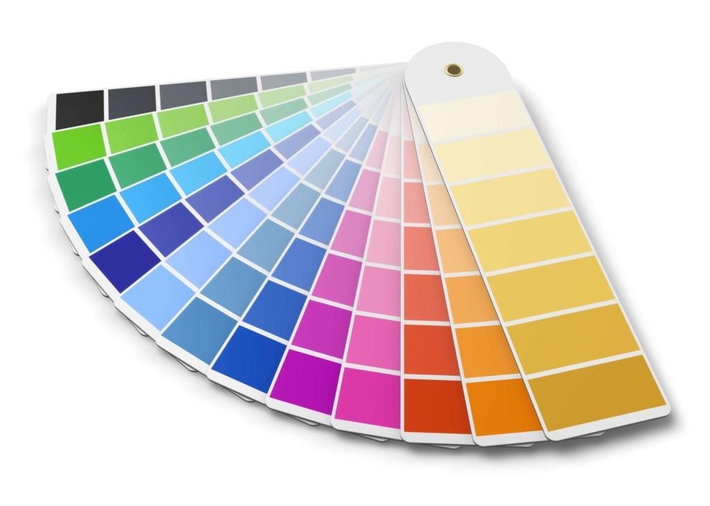 Nuancier de couleurs pour décoration intérieur professionnel